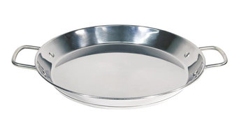 Optima Stainless Steel Paella Pan, 36 cm