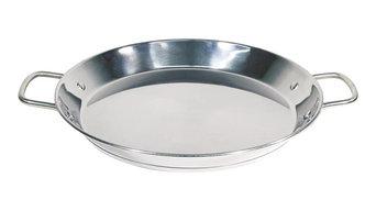 Optima Stainless Steel Paella Pan, 36 cm