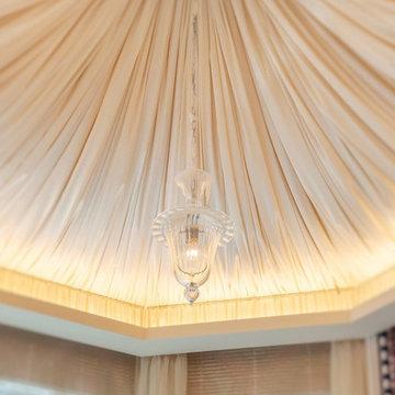 リゾート感 溢れる、優雅な八角形サロン