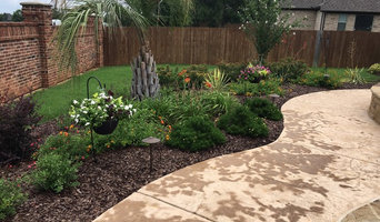 New pool flower beds