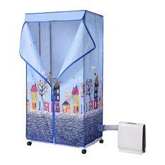850W Electric Automatic Clothes Dryer Portable Laundry Heater Air-Dry Machine