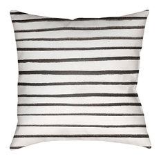 "Stripes Outdoor Pillow, 20""x20"""