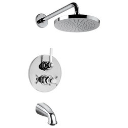 Contemporary Tub And Shower Faucet Sets by LaToscana