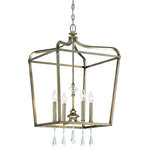 Minka Lavery - Minka Lavery 4448-582 4 Light One Tier Mini Chandelier - Four Light Single Tier Chandelier from the Laurel Estate CollectionProduct Features: