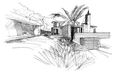 Back of an Envelope: Architects' Sketches and the Homes They've Made