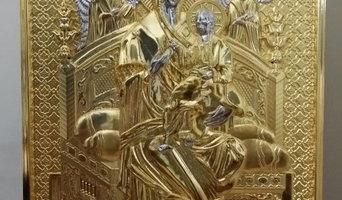 Orthodox Handmade Icons and Gilded Iconostasis