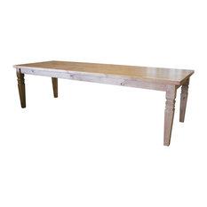 """Charlotte Shaker Square Turned Leg Dining Table, Tuscany Finish, 72"""" L X 42"""" W X"""