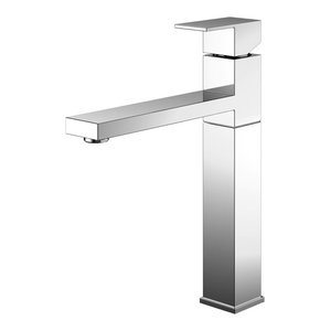 Superior Kitchen Mixer Tap, High Gloss Stainless Steel