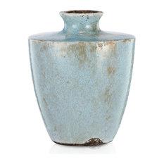 "Terracotta Vase 8""x6""x10"""