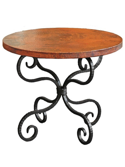 Wrought Iron End Tables