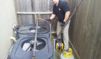 expo installs air conditioning system | ac system installation