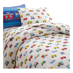 "Fits 28/"" x 52/"" Olive Kids 3 Piece Sheet Set Heroes 100/% Cotton 200TC  Toddler"
