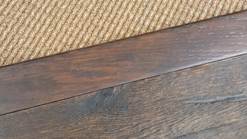 Can Anyone Recommend A Company To Custom Match Stair Nose? The Flooring Is  Heavily Distressed, Which Is Complicating Things .