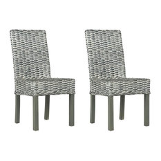 Wheatley Side Chair in Gray White Wash - Set of 2