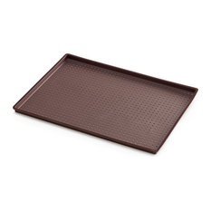 Lekue Silicone Perforated Pizza Mat, Brown