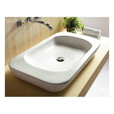 "Nameeks CA4278 Caracalla 32-1/3"" Ceramic Vessel Bathroom Sink"