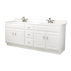 Design House Concord Vanity Cabinet With 4 Doors Bathroom Vanities And Sink Consoles