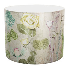 Mother's Silver Bouquet Lampshade For Pendant Light, Large