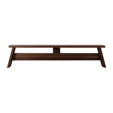 Saga Walnut Dining Bench