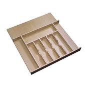 Short Wood Cutlery Tray Insert