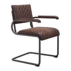 Father Dining Arm Chair, Vintage Brown