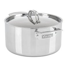 Viking 3-Ply Stock 6-Quart Stock Pot, Mirror Finish
