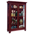 Kincaid Homecoming Solid Wood Open Hutch With Buffet ...