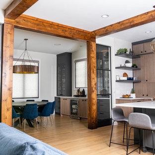 Home design - eclectic home design idea in Chicago