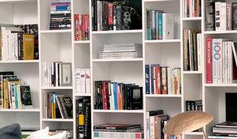 Custom Built-in Book Shelving