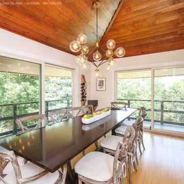 Modern Sliding Glass Doors in Fabulous Dining Room - Renewal by Andersen LINY