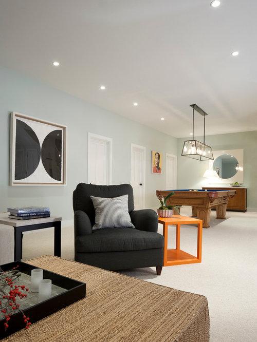basement wall colors Minimalistic Design