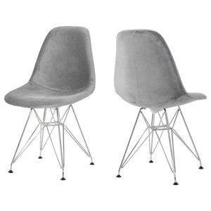 Super Baxton Studio Boujan Plastic Modern Dining Chairs White Creativecarmelina Interior Chair Design Creativecarmelinacom