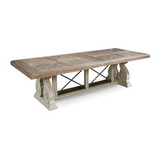 A.R.T Arch Salvage Pearce Dining Table Parchment 233221-2802