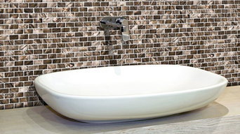brick mother of pearl shell tiles for bathroom