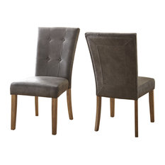 Debby Side Chair Gray Set Of 2 Natural
