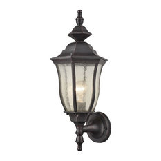 Porch Light in Urn Style - One Light Traditional Outdoor Wall Lantern - Outdoor