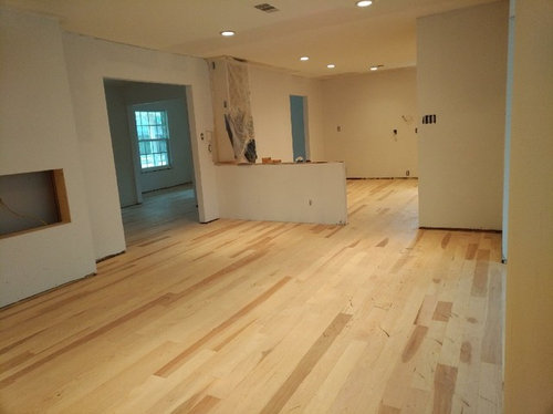 Finishing Hickory Hardwoods Sealer Or