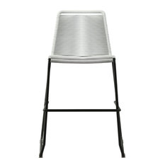 Barclay Counter Stool, White Cord