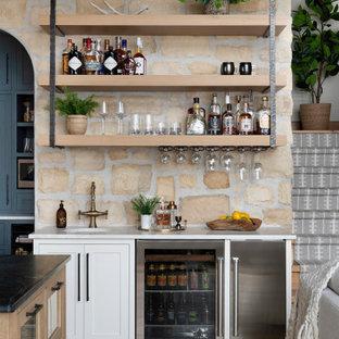 Idee per un angolo bar stile rurale