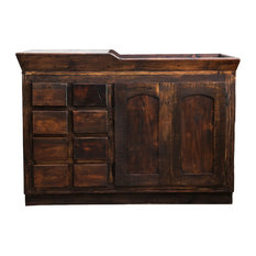 "Alden Reclaimed Bathroom Vanity 57119, 60""x20""x32"""