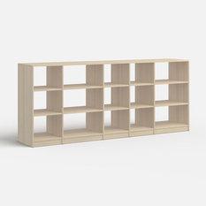 - Bibliothèque Basse Eder - Bouleau - Bibliothèque
