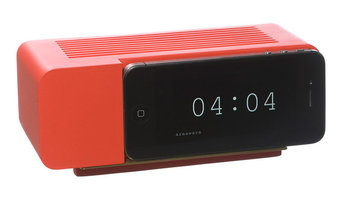 Areaware Alarm Dock for iPhone 5, Red Resin