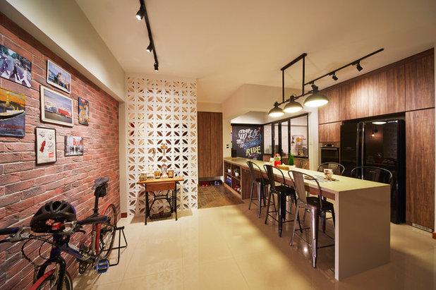 Living Room by The 80's Studio Pte Ltd