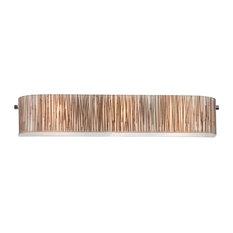 ELK Lighting 19066/3-LED Modern Organics Polished Chrome Vanity Light