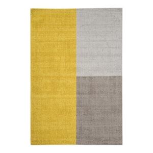 Blox Rug, Mustard, 160x230 cm