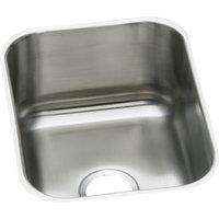 "Dayton DXUH1318 Stainless Steel 16""x20-1/2"", Single Bowl Undermount Bar Sink"