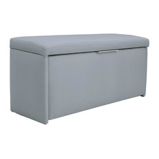 Paris Velvet 8-Pair Shoe Storage Box, Light Blue