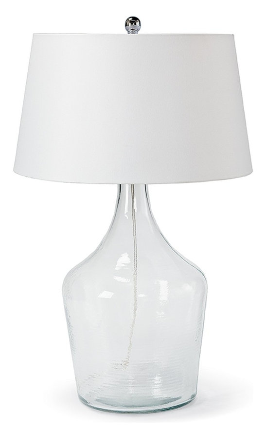 MA44-7334CH Recycled Glass Bottle Lamp