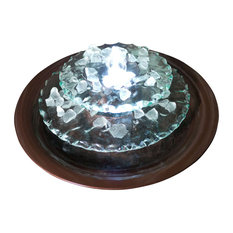 Bluworld HOMelements   Moonlight Tabletop Fountain   Indoor Fountains