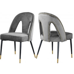 Midcentury Dining Chairs by Meridian Furniture